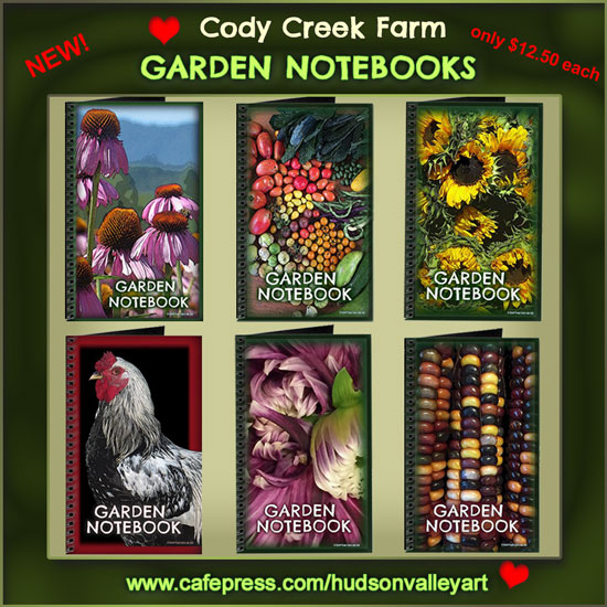 Visit our new Garden Notebooks at the Hudson Valley Art Shop!
