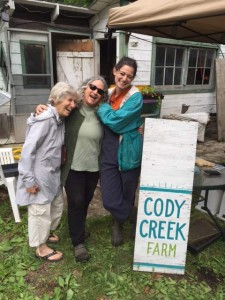 the laughing ladies of Cody Creek Farm