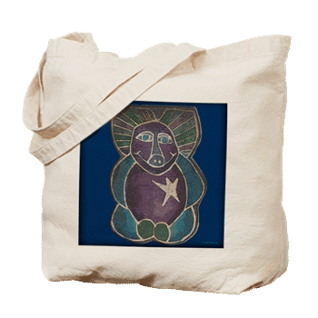 Hudson Valley Art: Happy Pig Tote