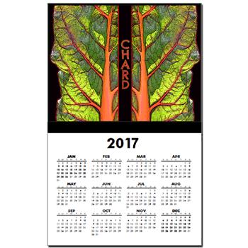 Farm Art: Rhubarb Chard Calendar
