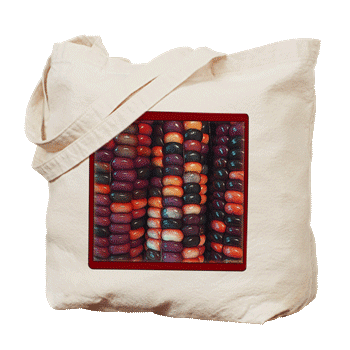 Painted Mountain Corn: Tote Bag
