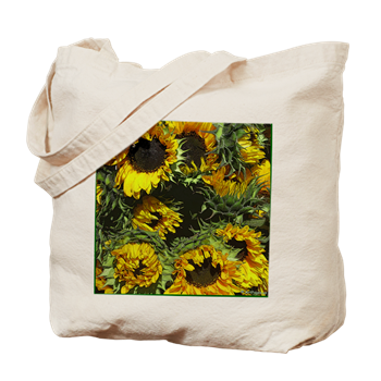 Sunflowers as Art: Tote Bag