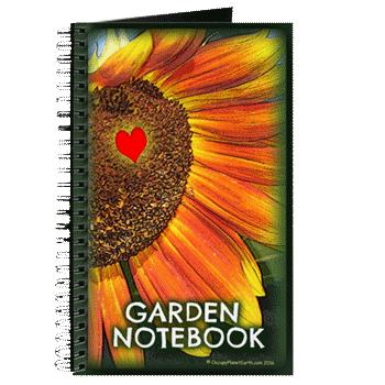 Hudson Valley Art: Sunflower Garden Notebook