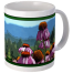 Hudson Valley Farm Art: Echinacea Mug