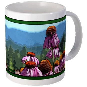 Healing Echinacea Mug