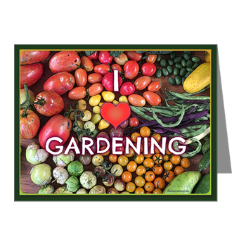 Hudson Valley Art: I Love Gardening Notecards
